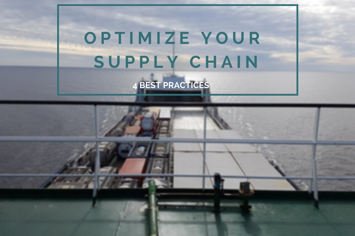 How to optimize your supply chain