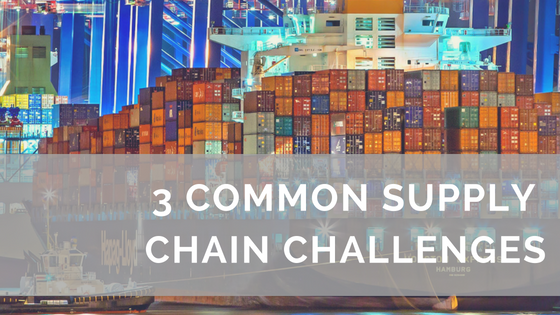 common supply chain challenges